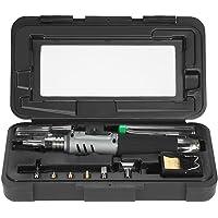 Fer à Souder au Gaz, KKmoon 10 en 1 Kit 26ml de soudage Gaz Butane Fer à souder Set Professional Pen style Torch HS-1115K