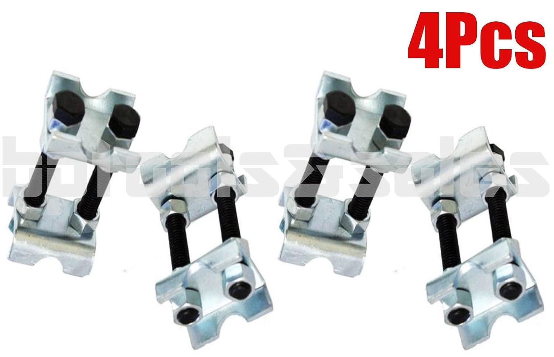 4Pcs Mini Coil Sring Compressor Adjustable Spring Struts Shocks Adjuster Tools Gener