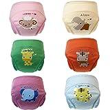 Skhls Culottes d'apprentissage Lavable Anti-fuite Couches-Culottes pour les Enfants 12 mois-3 ans