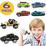 Hot Wheels Toy Car Set Gift Pack(6 Pack)