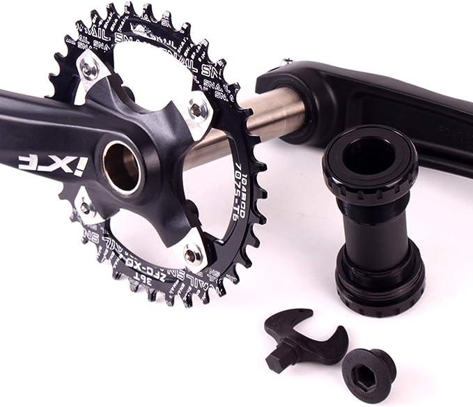 Multicolor IXF Aluminum MTB Bicycle Crankset 170mm BCD 104mm BB Bottom Bracket