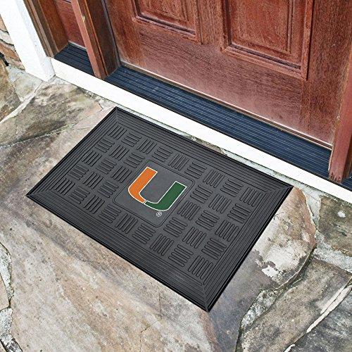 FANMATS NCAA University of Miami Hurricanes Vinyl Door -