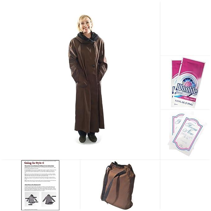 948b9aeda64 Mycra Pac Long Donatella Fashion Travel Raincoat  Amazon.ca ...