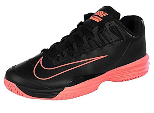 8b8bdd41384e Nike Men s Court Lunar Ballistec 1.5 Tennis Shoe-Black Hot Lava Black Hot  Lava 9 D(M) US  Amazon.in  Shoes   Handbags