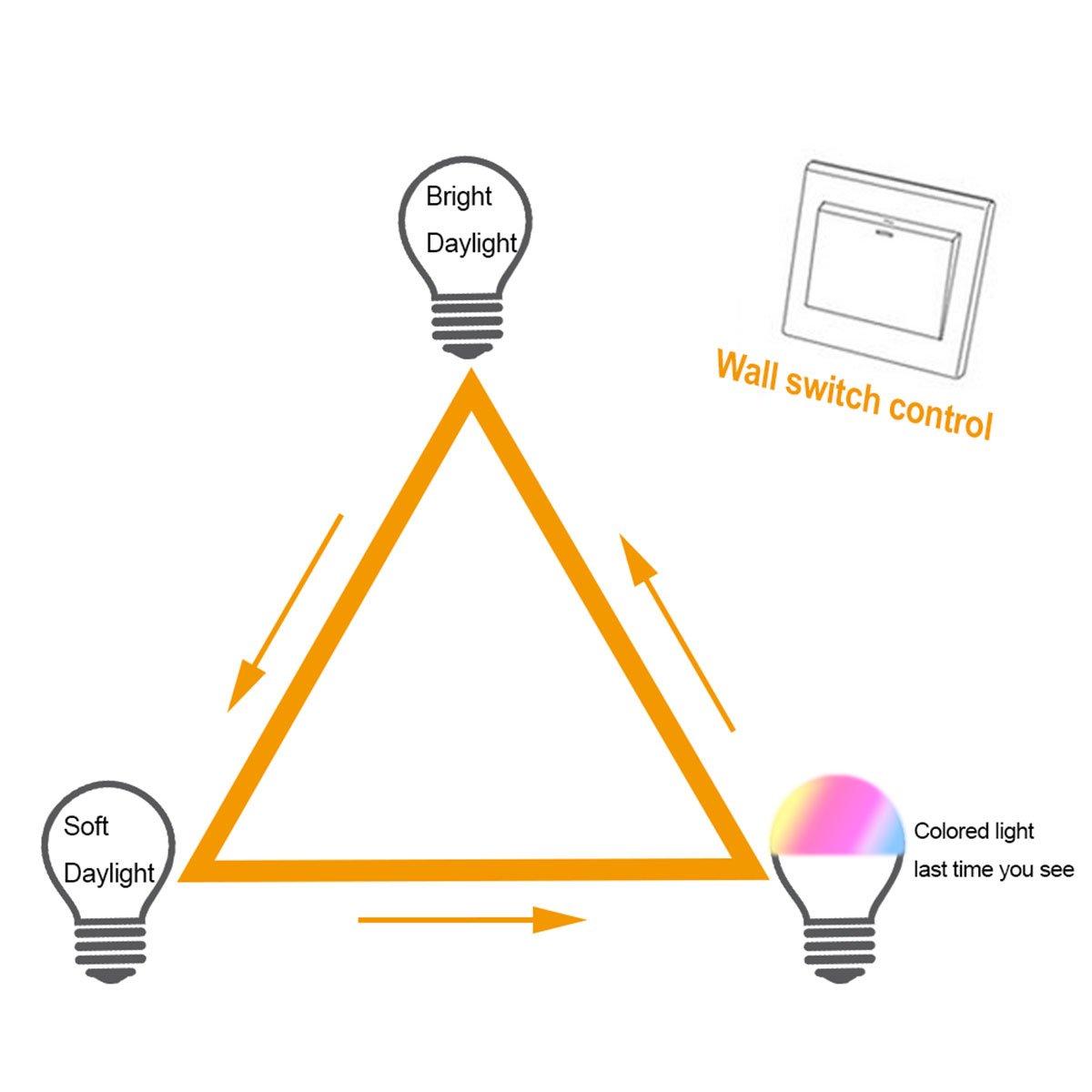 NetBoat Bombillas de Colores LED E27 10W,LED Bombilla Regulable 12 Color,con 21 llave Mando a Distancia,Funci/ón de Memoria Dual,para Decoraci/ón para el hogar Bar Partido KTV Etapa Efecto luces