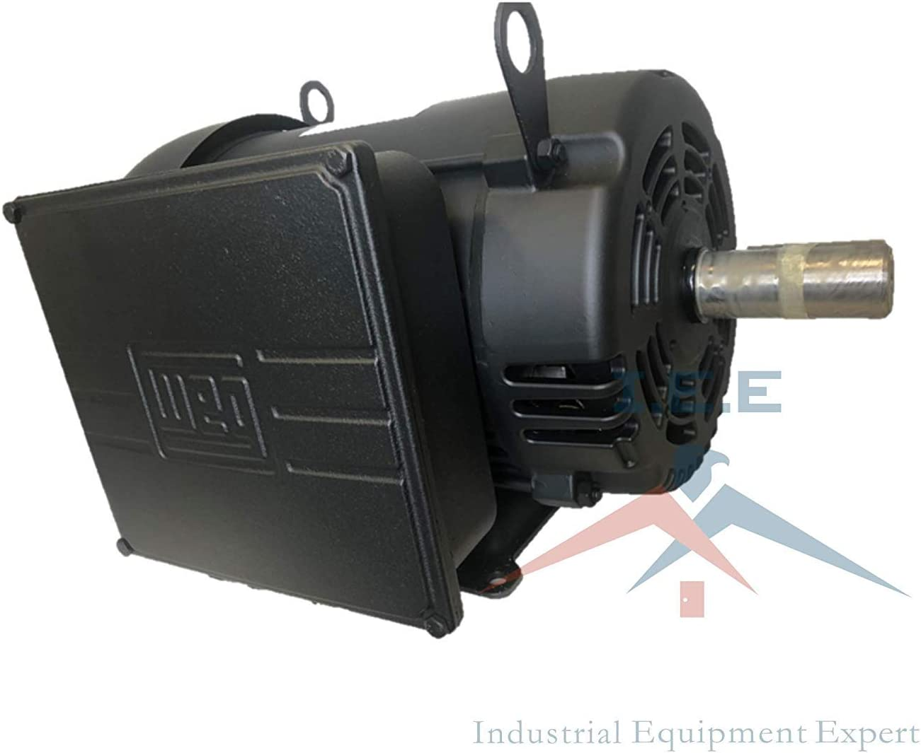 7.5 HP Air Compressor Duty Electric Motor 215T Frame 1760 RPM Single Phase WEG 00718OS1CCD215T