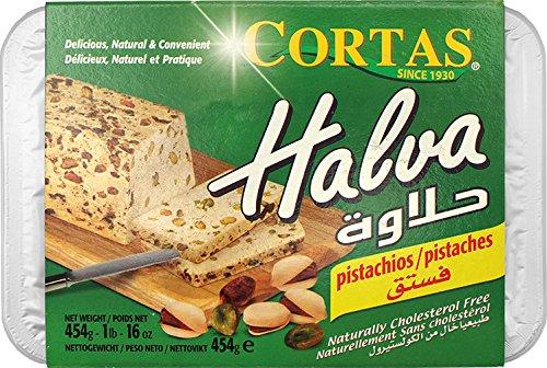 Cortas Halva mit Pistazien, 2er Pack (2 x 454 g)