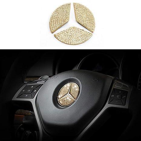 Amazon.com: TopDall - Adhesivo para volante de Mercedes Benz ...