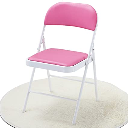 BZEI-Chair Muebles Taburete Silla de Oficina Plegable, Cuero ...