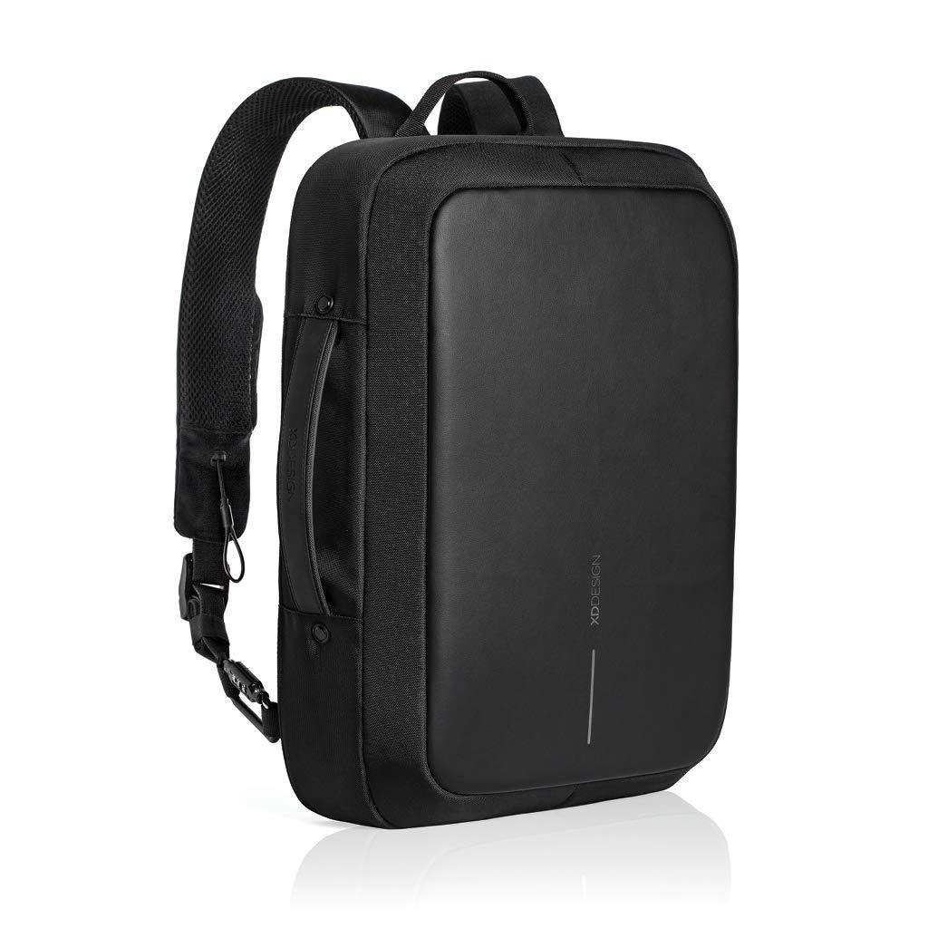 863111b9698 Amazon.com  XD Design Bobby Bizz Anti-Theft Laptop Backpack   Briefcase  w USB (Unisex bag)  Computers   Accessories