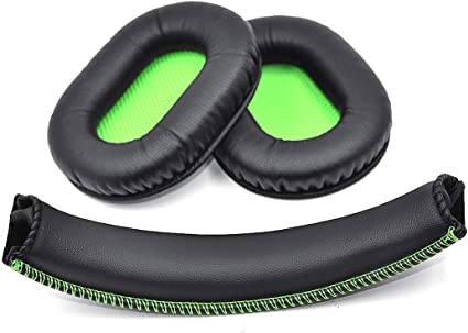 Replacement Cushion Ear Pads Seals Pillow Foam Cover for Razer BlackShark Stereo Gaming Headset Headphone