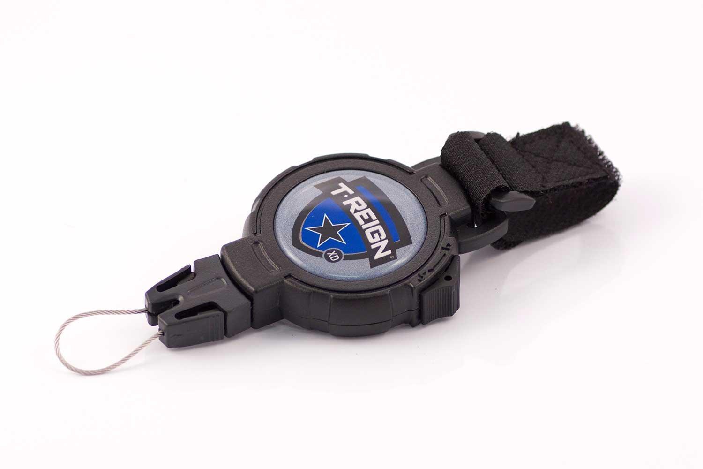 T-Reign Retractable Gear Tethers & Cases Accessoire de fixation avec bande Velcro