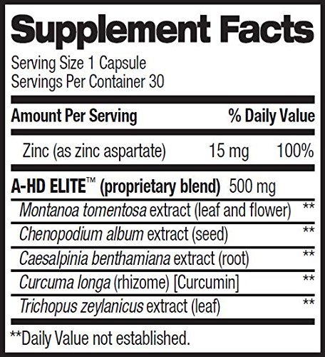BPI Sports A HD Elite, Powerful Test Support, 500mg, 30 Count