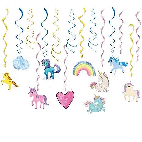 Cocobee unicornio para colgar adornos de espirales - Magic ...