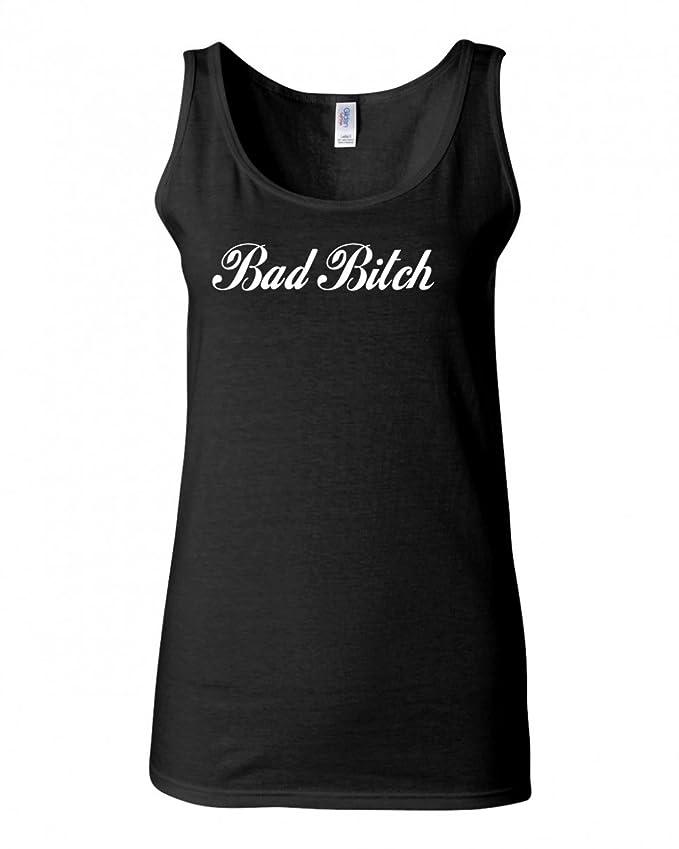 FASHIONISGREAT Womens Bad Bitch Sweatshirt