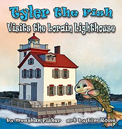 Tyler the Fish Visits Lorain Lighthouse