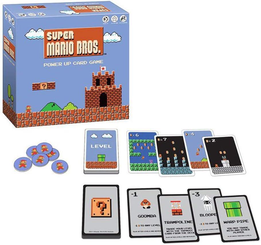 USAopoly USOCG005435 Super Mario Bros Power Up Juego de Cartas: Cards: Amazon.es: Juguetes y juegos
