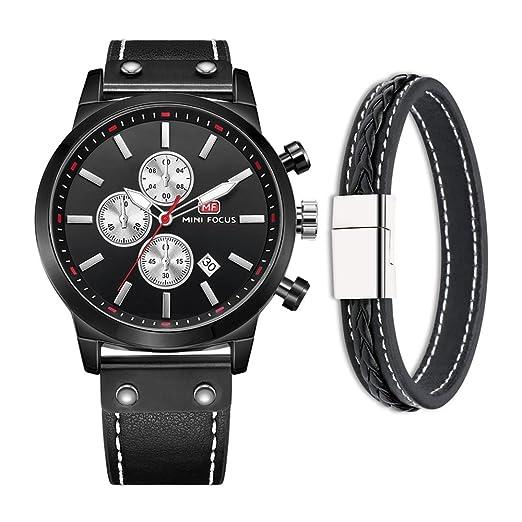 Mini Focus Relojes de hombre, minimalista, moda de lujo, relojes de pulsera para