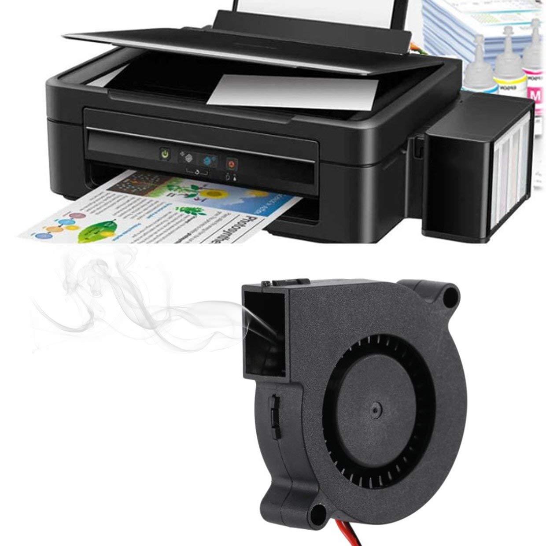 MXECO 2 PCS Mini ventilador de enfriamiento 50mmx50mmx15mm Piezas ...