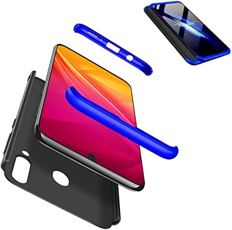 JJWYD Funda para Samsung Galaxy M30/ A40S + Gratis Cristal ...