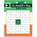 St. Patrick's Day - Saint Patty's Day Party Bar Bingo Cards - 16 Count