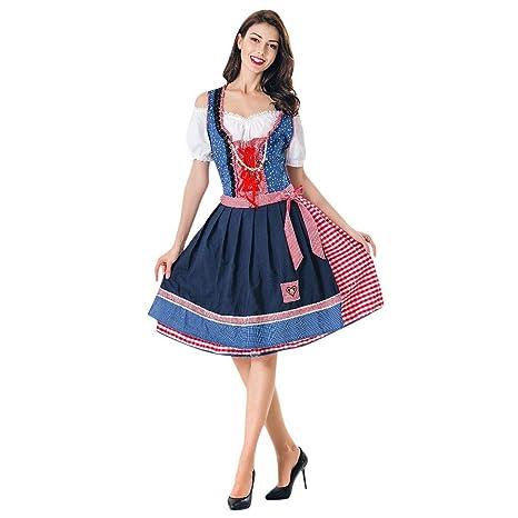 Vestido de mujer para Oktoberfest de MNRIUOCII, traje de ...
