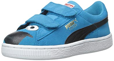 PUMA Suede Sesame STR Kids Sneaker (Toddler/Little Kid/Big Kid),