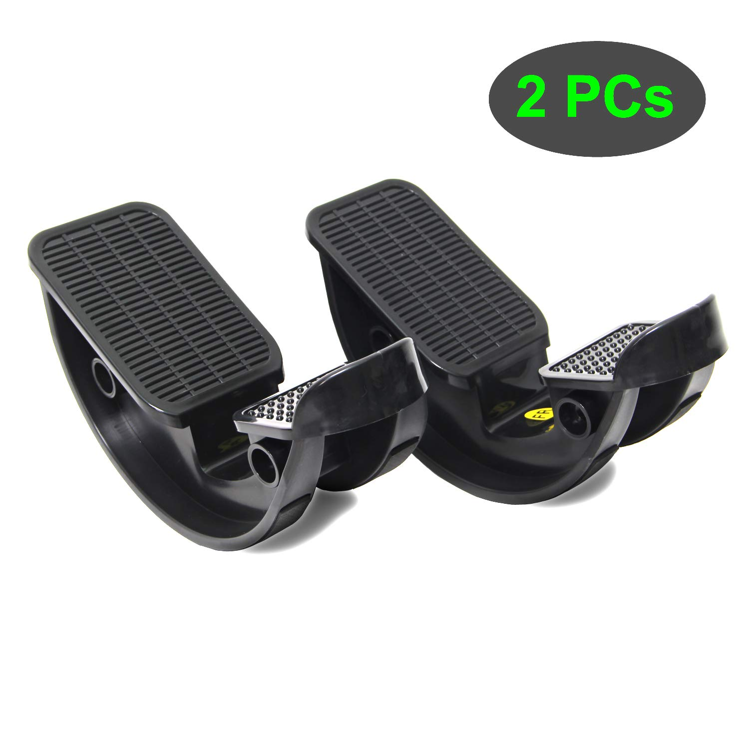 TODO Foot Rocker Calf Stretcher for Pain Relief and Muscle Stretch 2 PCS (Black)