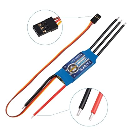 Crazepony ZTW Beatles 30A ESC 2-4S Lipo 5V 2A BEC Brushless Eletronic Speed  Controller for RC Airplane Quadcopter Multirotor Helicopter