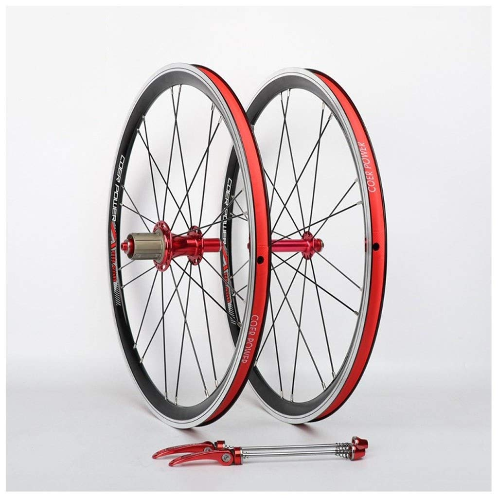 A 20inch 20 Cycling Hub, Double Wall Rim Quick Release Disc Brake Sealed Bearings Hub 20 Hole 8 9 10 Speed