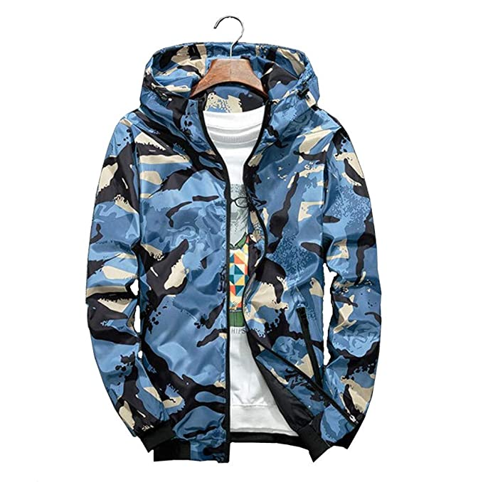 65810b26 Gusha Men's Hooded Jacket Youth Jacket Casual wear Long-Sleeved Clothes:  Amazon.ca: Clothing & Accessories