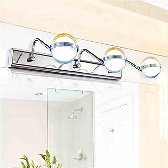 TOYM UK-Luces moderno cristal de espejo de baño lavabo lámparas LED para maquillaje Espejo