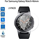 2-PACK Tempered Glass Screen Protector For Samsung Galaxy Watch 46mm