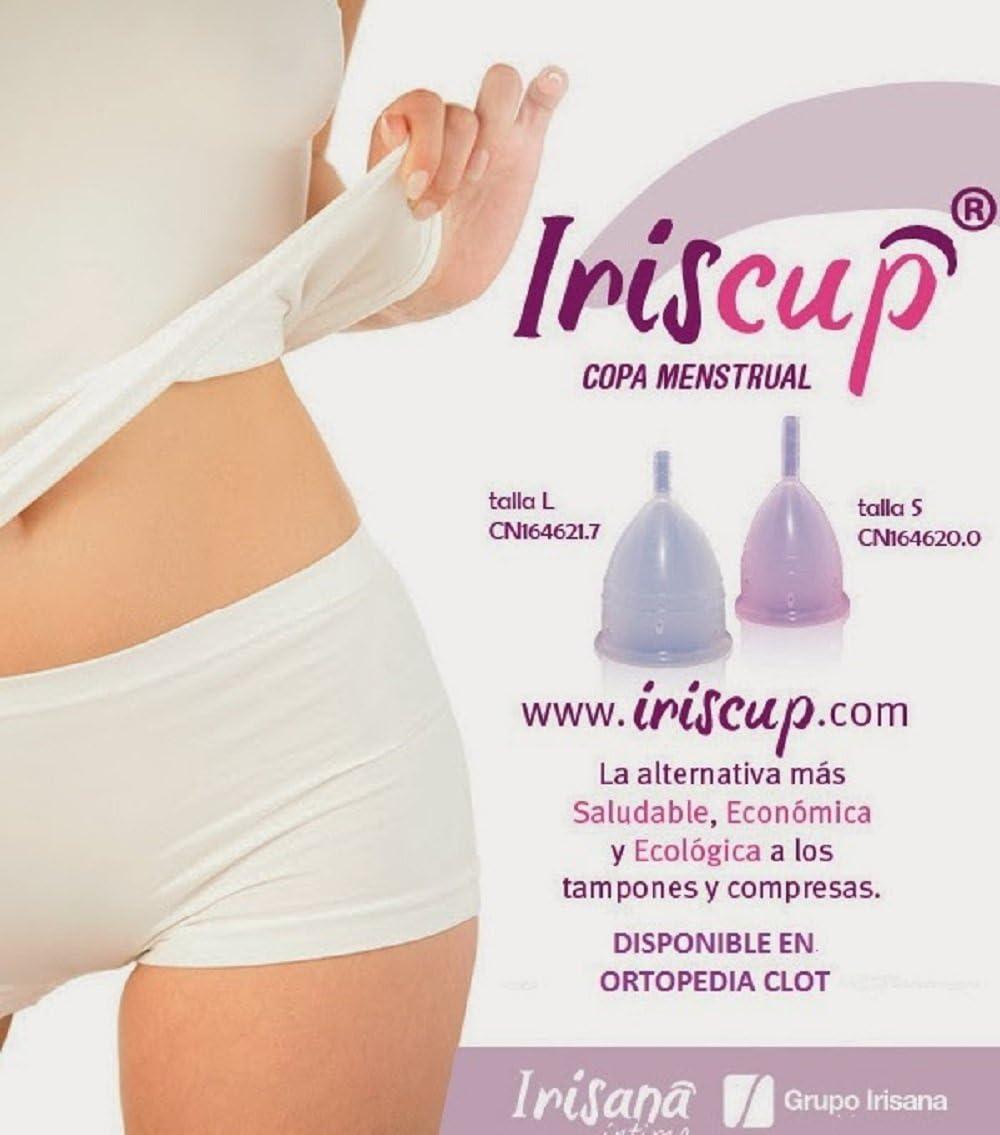 Iriscup Copa Mestrual Rosa Grande