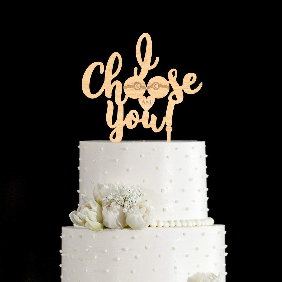Wedding Cake Topper Pokemon Design Amazon Com Grocery