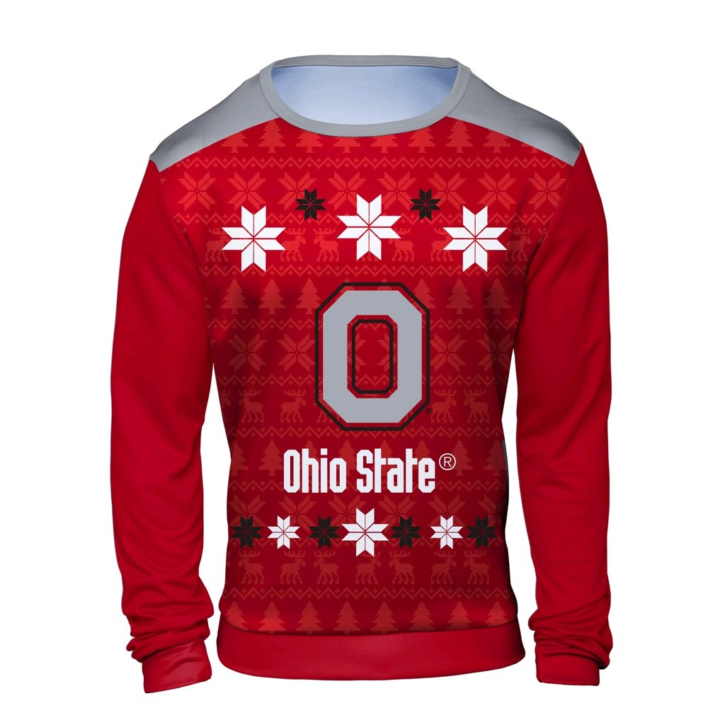 Amazon.com : Klew NCAA Mens Ugly Sweater : Sports & Outdoors