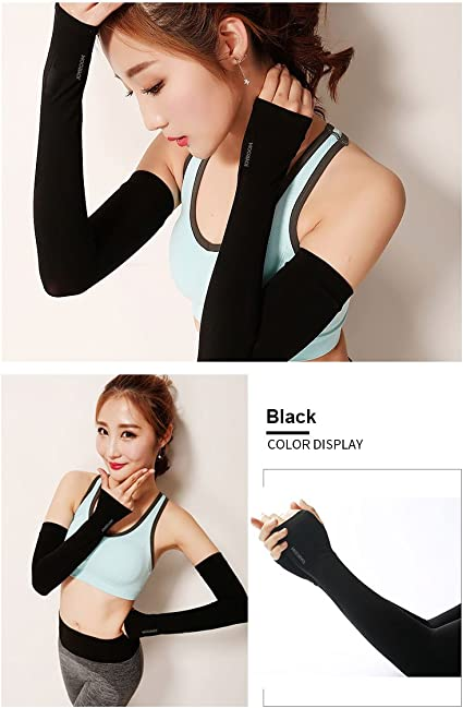 Outdoor Sports Sunscreen Long Sleeves Cover Hand Arm Elbow Skin Protector Bike