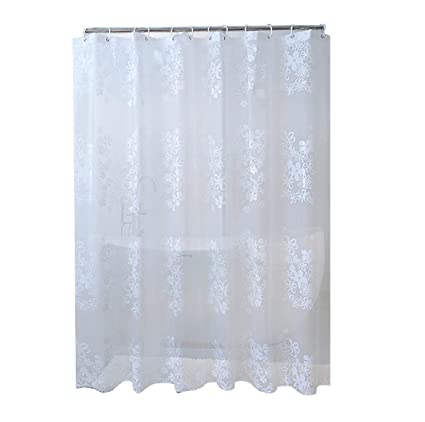 Homebed European Shower Curtain PEVA Eco Friendly PVC Free Bathroom Waterproof And Mildew