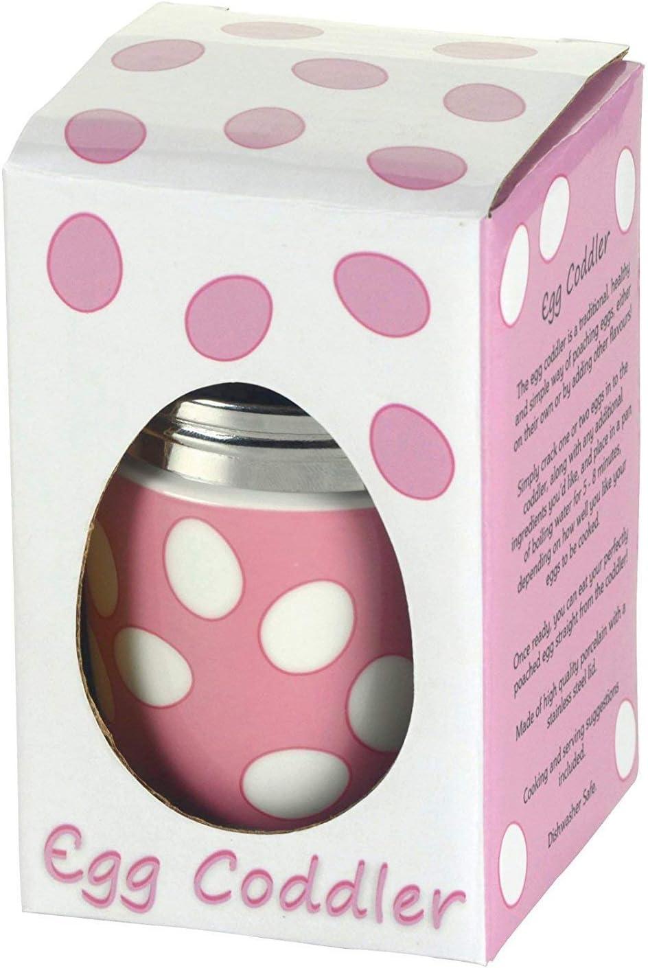 BIA Recipiente de Huevo DRH//Cazador furtivo de Huevo Color Rosa 1568 Lunares 990112g