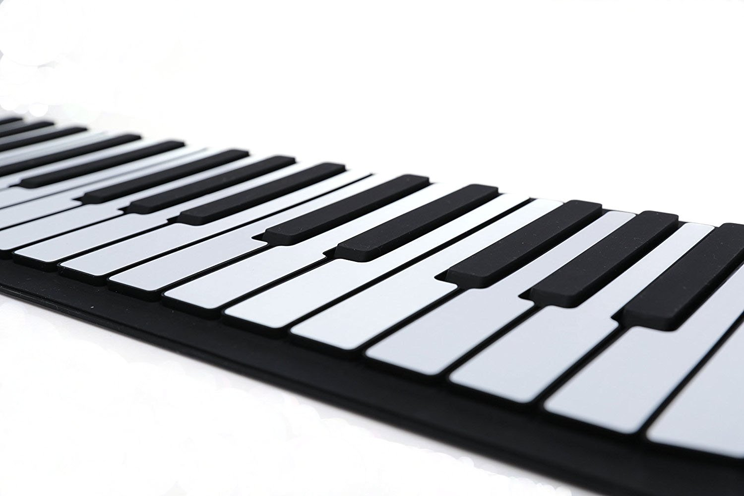 iLearnMusic Roll Up Piano, Premium Grade Silicone, Built-in Speakers - Educational Piano (61 Keys (F61)) by iLearnMusic (Image #6)
