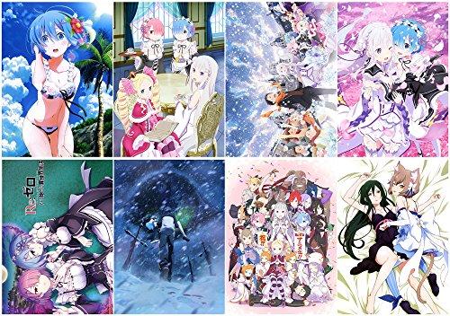 Suefscroll Re Zero kara Hajimeru Isekai Seikatsu Polypropyle