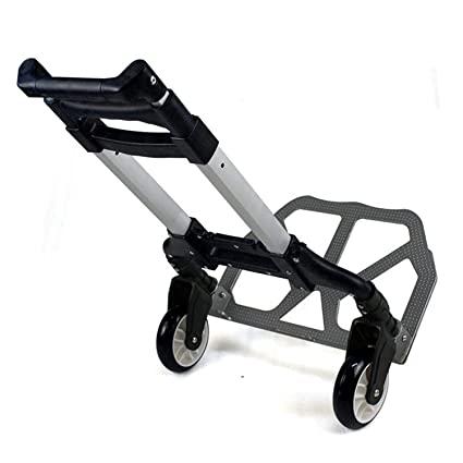 05b92b5d0563 Amazon.com: Heavens Tvcz Hand Trolley Cart Luggage Folding Aluminium ...
