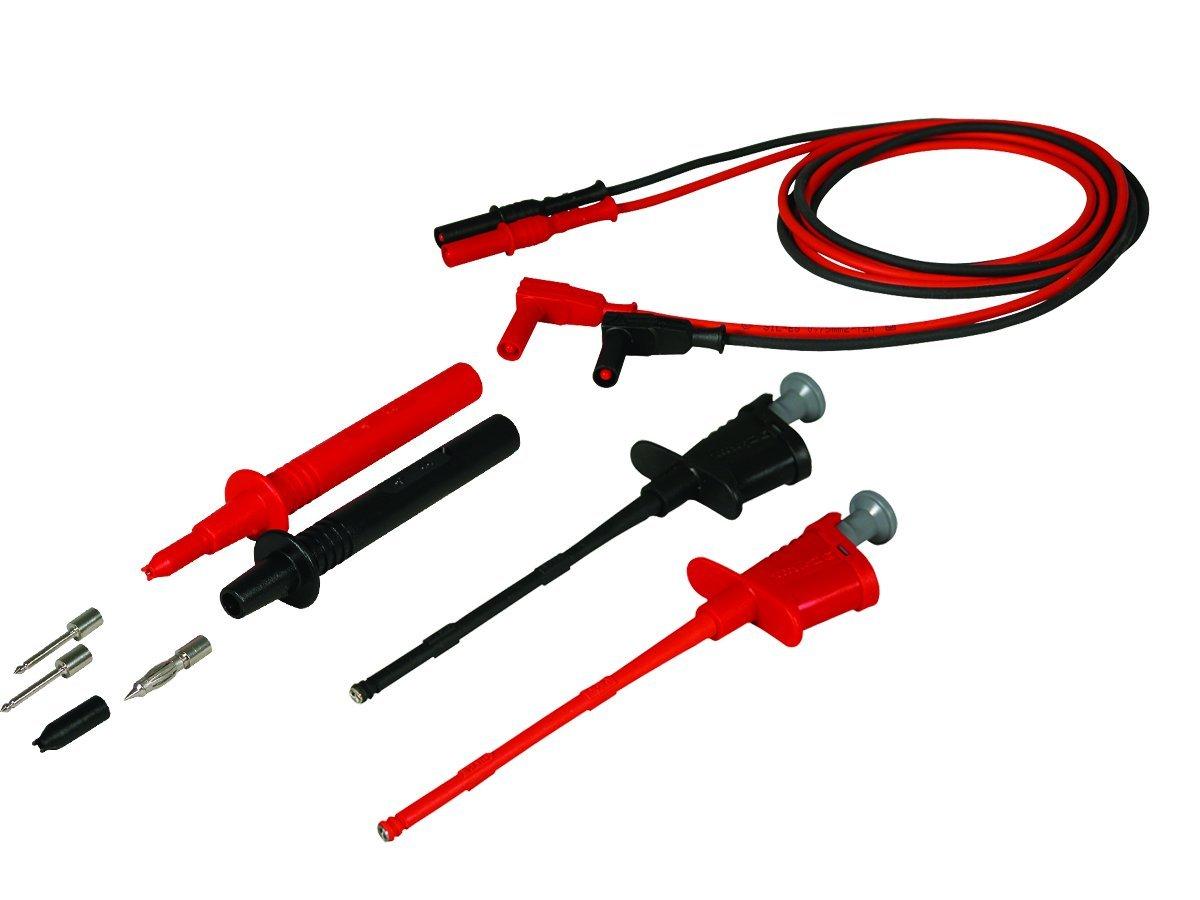 Cal Test Electronics CT3089 2 Pieces Digital Multimeter Probe Banana Plug Adapter Set