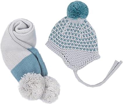 QinMM Beb/és ni/ñas ni/ños Orejeras Calientes Sombreros de Punto para ni/ños Gorra