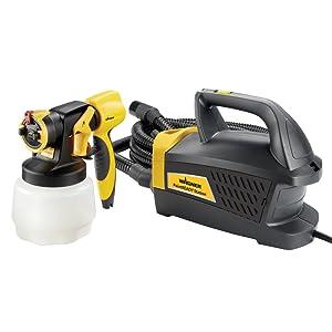 Wagner Spraytech Wagner 0529017 PaintReady Station HVLP Paint Sprayer Yellow/Black