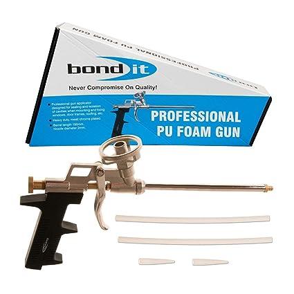 Bond-It Professional PU Foam Gun - Pistola para espuma expansiva de poliuretano, de
