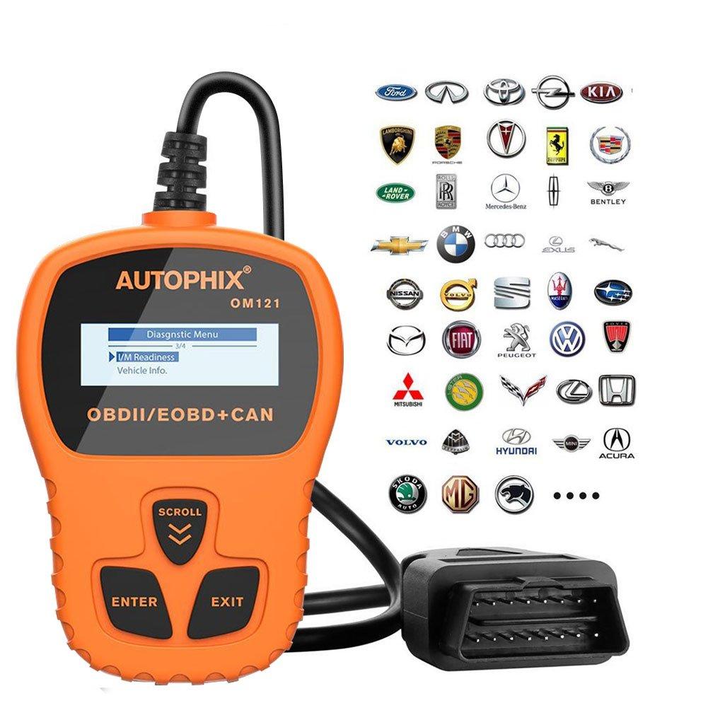 TekKamp OBD2 Car Auto Scanner, 2017 Universal OBDMATE OBDII CAN Hand-held Error Fault Code Reader Analyzer Automotive Scanner Diagnostic Tool