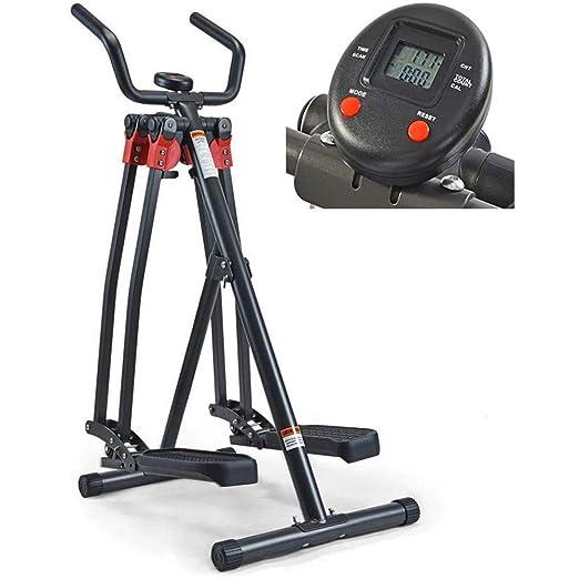 XHLLX Trainer Pedal Compacto con El Monitor LCD - Aire Plegable ...