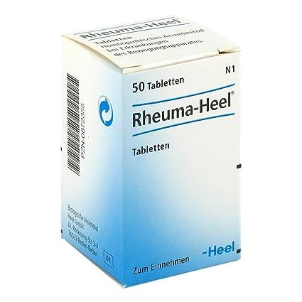 Rheuma Heel - Pastillas, 50 piezas: Amazon.es: Salud y ...