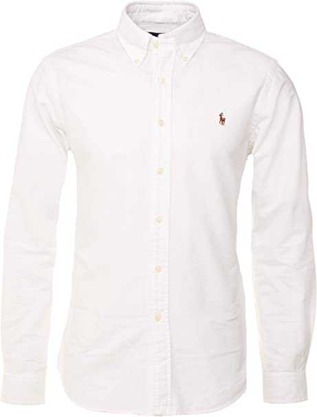 Polo Ralph Lauren Camisa Button Down Tejido Oxford Classic Fit: Amazon.es: Ropa y accesorios